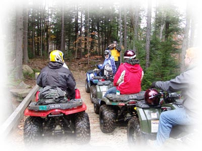 Maine ATV tours