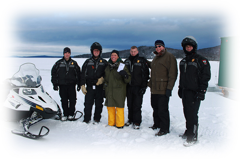 Ice fish wardens